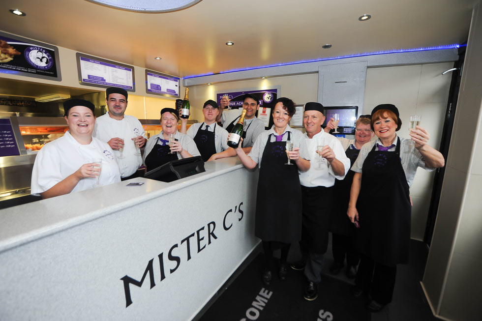 Meet the team at Mister C's