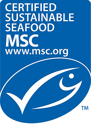 MSC Sustainable Seafood accreditation