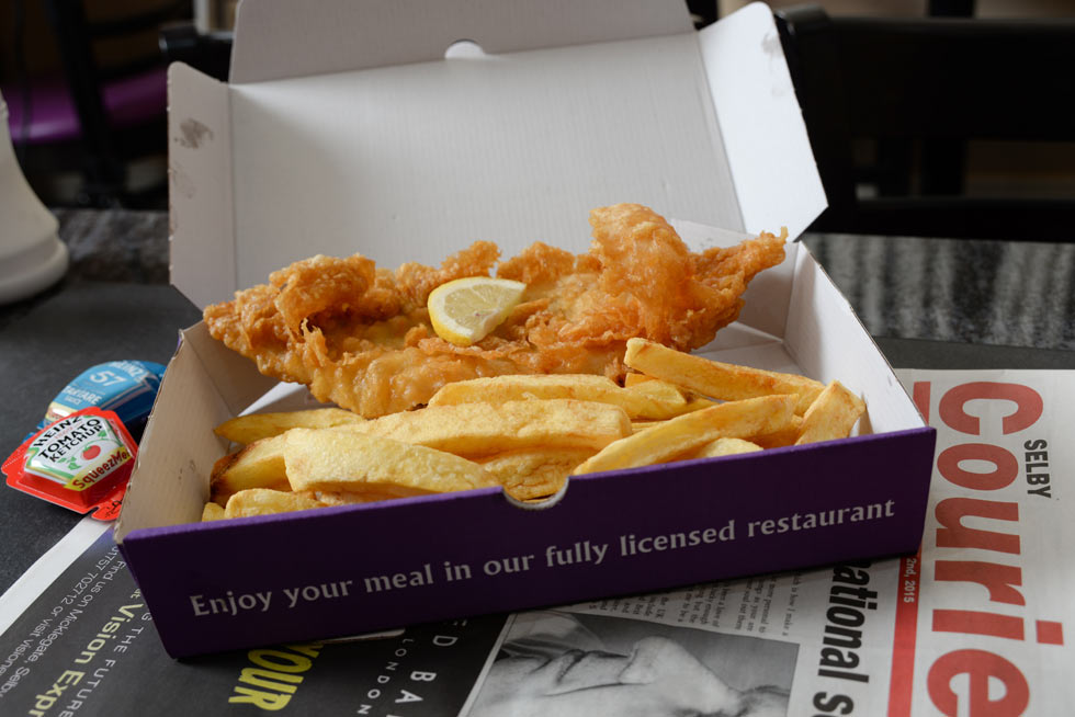 Selby's award winning fish and chips